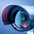 Surveillance cameras in the office